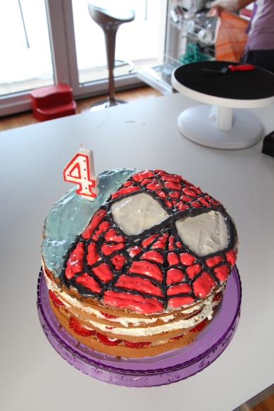 spidermancake