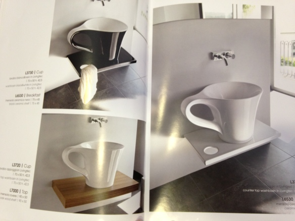 espresso cup sinks!